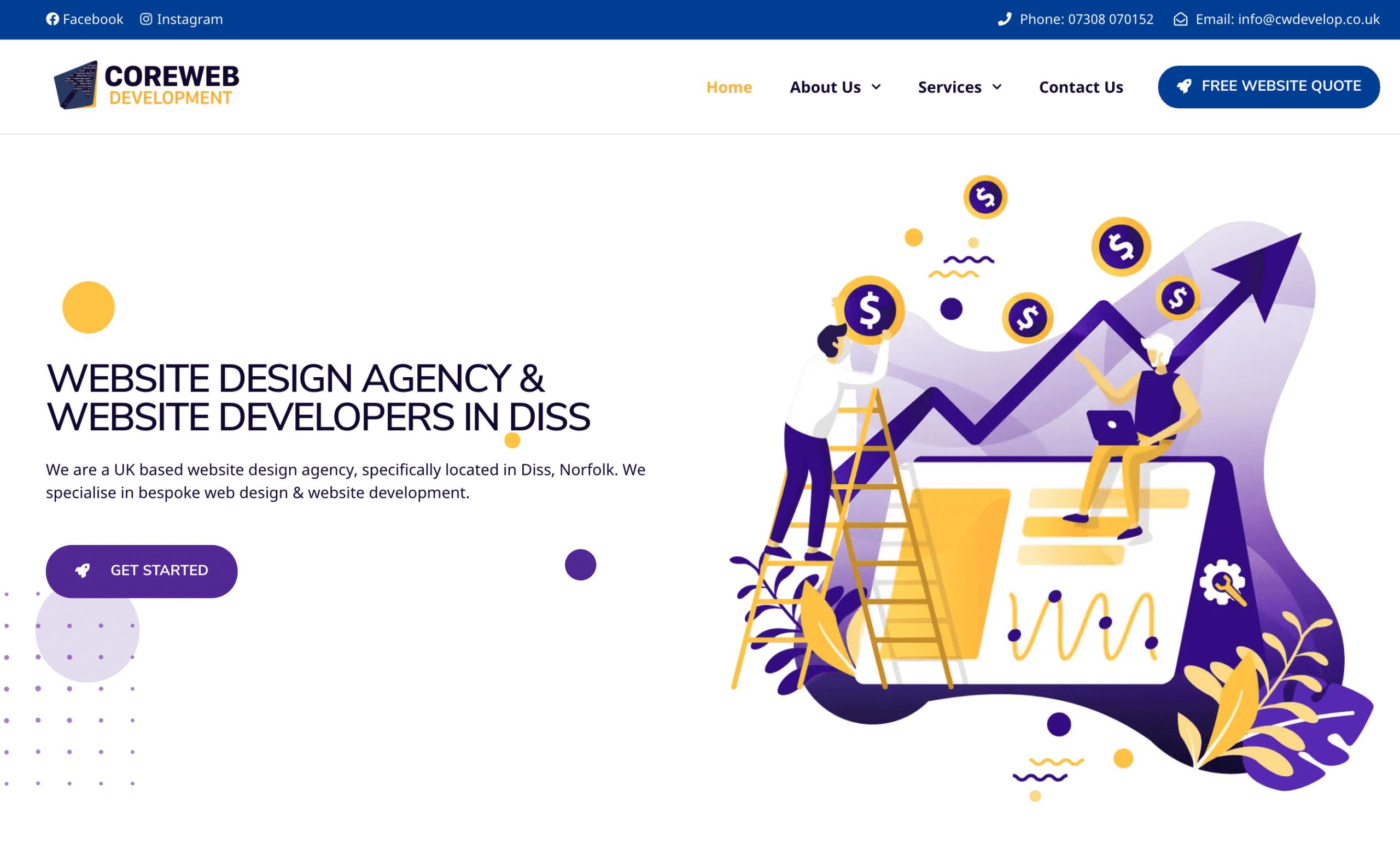 Website Design Revamp