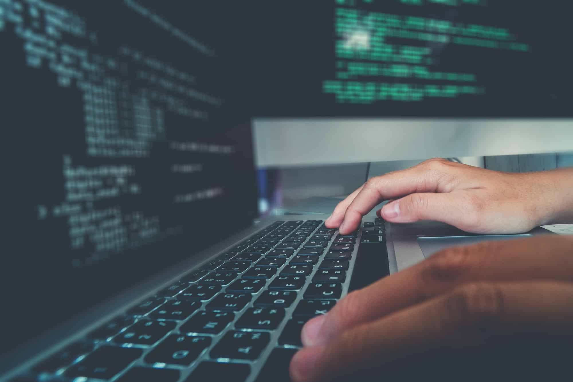 Developing programmer Development Website design and coding technologies working